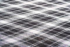 Checkered fabrick Стоковые Изображения RF