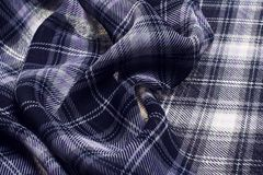 Checkered fabrick Stock Photos