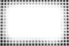 Checkered Feld b/w Lizenzfreies Stockfoto