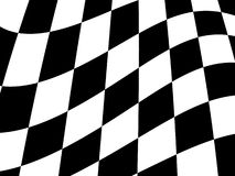 Checkered flag. Chequered flag for use as a background Royalty Free Stock Photos