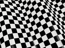 Checkered flag. Sports background - abstract checkered flag Stock Images