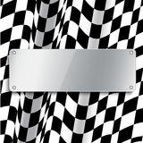 Checkered flag Royalty Free Stock Photos
