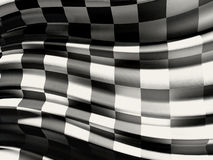 Checkered flag. A computer generated image of a race checkered flag Stock Photography