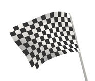Checkered flag. Sports background - an abstract checkered flag Stock Images