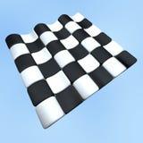 Checkered flag. Checkered racing flag Stock Photo