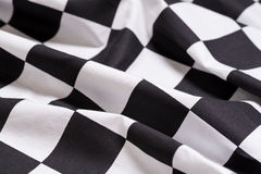 A checkered flag background - motor racing - symbol for winning Stock Photos