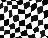 Checkered flag background. Racing flag - vector illustration Stock Photos