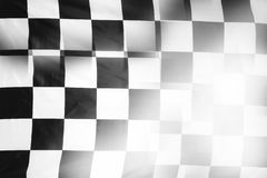 Checkered flag Royalty Free Stock Photos