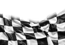 Checkered flag Royalty Free Stock Photography