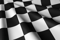 Checkered Flag - Closeup & Personal Stock Images