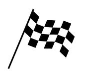 Checkered Flag Design. EPS 8 supported Royalty Free Stock Photo