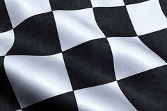 Checkered flag, end race background, formula one Royalty Free Stock Photography