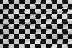 Checkered flag, end race background, formula one competition Royalty Free Stock Photos