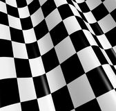 Checkered flag. Sports background - abstract checkered flag Royalty Free Stock Photography