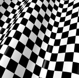 Checkered flag. Sports background - abstract checkered flag Royalty Free Stock Images