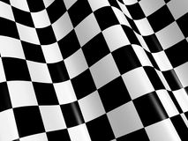 Checkered flag. Sports background - abstract checkered flag Royalty Free Stock Photos