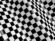 Checkered flag. Sports background - abstract checkered flag Stock Photo