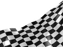 Checkered flag texture. Royalty Free Stock Photos