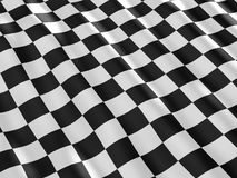 Checkered flag texture. Stock Photos
