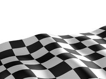 Checkered flag texture. Abstract design. 3D render royalty free stock photo
