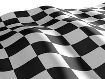 Checkered flag texture. Stock Photography