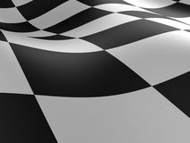 Checkered flag texture. Stock Image