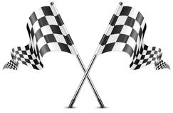 Checkered flags Stock Photos