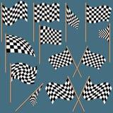 Checkered Flags Royalty Free Stock Photos