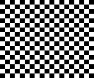 Checkered flags template - Black and white racing flags Stock Photos