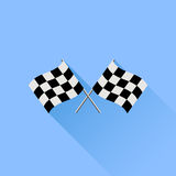 Checkered Flags Royalty Free Stock Photos