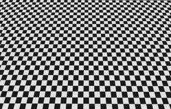 Checkered floor Royalty Free Stock Photo