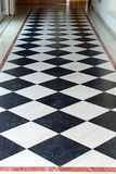 Checkered Floor Stock Photo