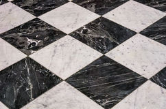 Checkered Floor Stock Photography