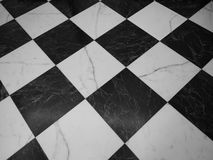 Checkered floor texture background Stock Photography