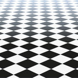 Checkered Floor Stock Images