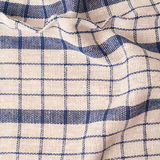 Checkered fragment of cloth Stock Image