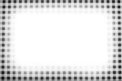 Checkered frame b/w Royalty Free Stock Photo