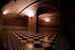Checkered Fußboden Lizenzfreies Stockbild