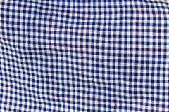 Checkered Gewebebeschaffenheit intresting Muster der Beschaffenheit Lizenzfreies Stockbild