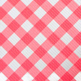 Checkered gingham fabric seamless. Pattern in red and white Stock Photography