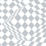 Checkered gray and white abstract background. Checkered black and white abstract wavy background. Vector illustration vector illustration