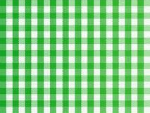 Checkered Green. A traditional plaid seamless, repeating checkered pattern in green and white Royalty Free Stock Images