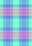 Checkered greenish background with purple and blue stripes Stock Photography