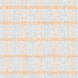 Checkered grey orange pattern Royalty Free Stock Photos
