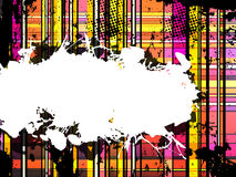 Checkered Grunge Background Royalty Free Stock Photography