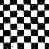 Checkered Grunge Texture Royalty Free Stock Photo