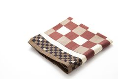 Checkered handkerchief Stock Image
