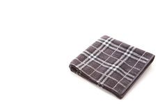 Checkered handkerchief Stock Photo