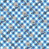 Checkered Hintergrund Stockbild