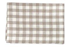 Checkered  kitchen towel Royalty Free Stock Photos